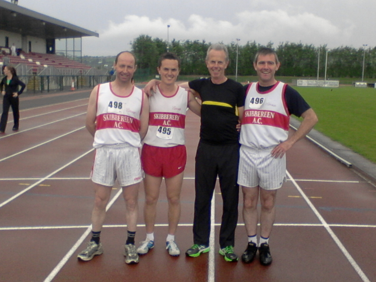 Paddy O'Brien, John Collins, Andy Collins and John McCarthy